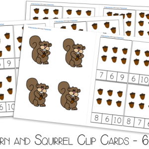 acorn-and-squirrel-clip-cards-6-10