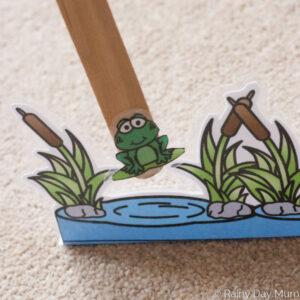 Frog Hops Phonics Game for Kids