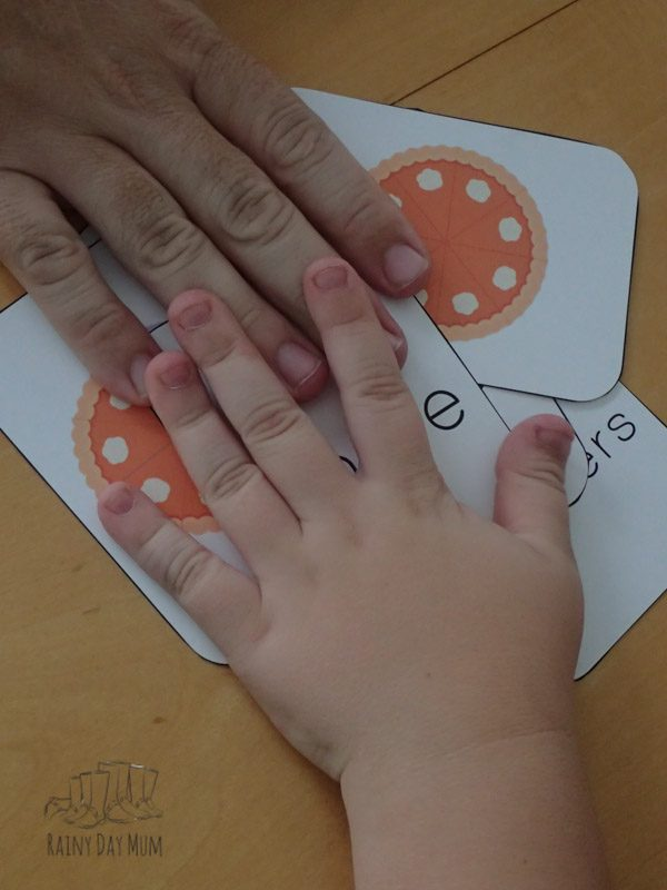 Pumpkin Pie Fractions Game