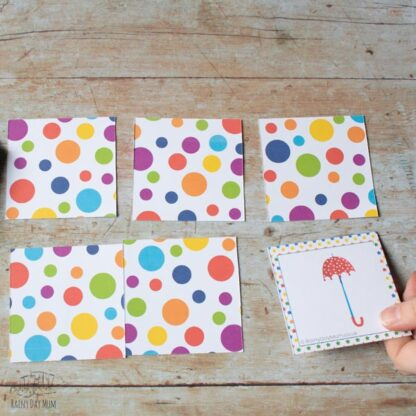 Circus and Big Top fun printable game for toddlers and preschoolers