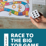 Race to the Big Top Game for Preschoolers